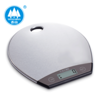 stainless steel kitchen scale, baking scale (high precision 1g) electronic kitchen scale