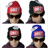 Hip-Hop Supreme OBEY Beanies Cotton Men Women Stay warm outdoor knitted cap wool Hats baseball caps Snapback Hats winter hats