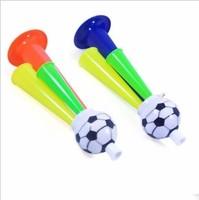 Three activity supplies atmosphere supplies large football trumpet sound horn Min.order $10