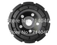 "5"" concrete diamond grinder  cup wheel 125mm, grinding discs tools for concrete,marble,granite, factory price 2 pcs/lot"