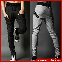 2013 Fall New Fashion Mens Casual Harem pants sport pants for men Skinny sports trouses with Drawstring 3 colors M-XXL C537