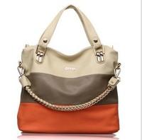 2014 new fashion  OPPO female  genuine leather shoulder bag authentic korean  fashion leisure  lady tote bag  wholesale handbag