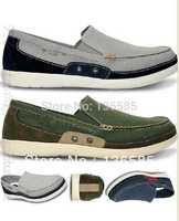Free shipping  confortable dress men shoes beach line boat shoes beach clog sandals M7 M8 M9 M10 M11 autumn shoes