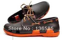 Free shipping  confortable dress men shoes beach line boat shoes beach clog sandals lace up M7 M8 M9 M10 M11 autumn shoes