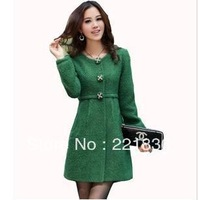 Free Shipping Winter details cashmere wool coat of cultivate one's morality