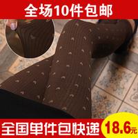 6746 autumn women's thick legging pants black warm autumn and winter trousers