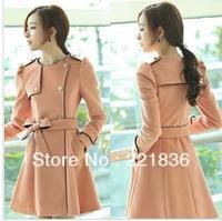 Free Shipping The new han edition fashion ladies cloth coat coat