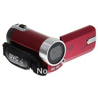 High Quality 2.5-inch TFT LCD 12.0MP DV/ Camcorder with TV-out Function(NTSC/ PAL) (Red)