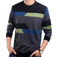Male autumn 2013 SEPTWOLVES men's clothing male o-neck long-sleeve T-shirt male loose wool t shirt