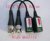 10 Pairs Twisted BNC Video Balun passive Transceivers UTP Balun BNC Cat5 CCTV UTP Video Balun up to 3000ft Range