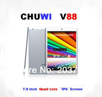 CHUWI V88 Quad Core Mini Pad 7.9 inch IPS RK3188 2GB RAM 16GB  Dual Camera Bluetooth  HDMI Tablet PC  Free Shipping  2pcs/lot