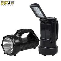Free shipping Charge flashlight portable hand lamp emergency light searchlight led flashlight household charge flashlight