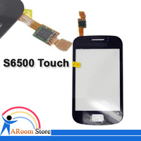 DHL EMS free shipping (20pcs/lot),Glass digitizer for samsung galaxy mini 2 s6500 touch screen original