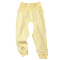 Plain series of the four seasons high waist belly protection open-crotch pants bb530
