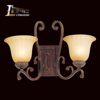 Supernova sale Fashion lighting rustic antique american style double slider ofhead mirror lamps deng  free shipping