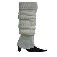 Hot Sale Women Thin Section Knit Stocking Stripe Leg Warmer  Socks WF-52354