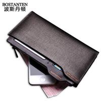 Guaranteed 100% Natural Genuine Leather  wallet men  famous brand men purse 131217B