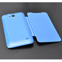 for ZTE V956 Battery housing case Flip Leather cover case with retail package,1pcs/lot+free shipping