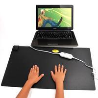 Free shipping Ultra-thin electric heating desk pad hand po heated mat desk table desktop platen