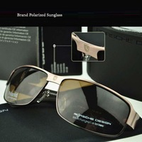Famouse men brand polarized sunglasses with alloy frame oculos sol polarized Free shipping