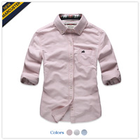 200 40 marcuster autumn women's cotton 100% Oxford silk cloth applique long-sleeve shirt mawc31098