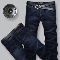 free shipping Straight men's clothing boys jeans wash water male jeans