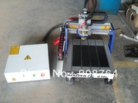 EN039# 0404 CNC Router, CNC Engraving Machine  400X400X100  300w spindle air cooling