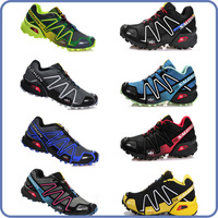 New design fashion Salomon running shoes zapatillas for men 8 color size US 7~US 11 free shipping
