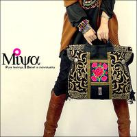 Original design embroidered national trend female bags handmade embroidery handbag shoulder bag canvas bag
