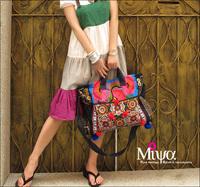 Handmade embroidery national trend female bags canvas bag handbag messenger bag wild