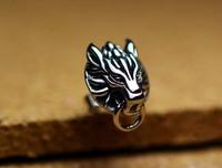 Cloud Wolf earrings, Sterling silver 925 , Stud earring,Final Fantasy 7, Cos