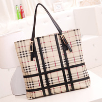 Women's handbag sweet fashion 2013 women's handbag casual plaid bags
