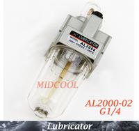Source Treatment Unit Pneumatic Lubricator AL2000-02 G1/4 ,SMC type AL2000 series air Lubricator
