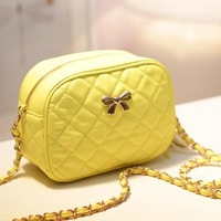 Women's handbag 2013 summer female small quality plaid chain bag handbag cross-body small bags
