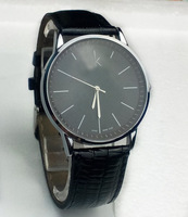 2013 Brand New Luxury Mens Quartz Analog Men's Watch Black Wristwatch for Gift