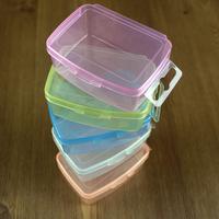 Small fashion storage small box plastic box accessories small sundries handmade glasses case storage box