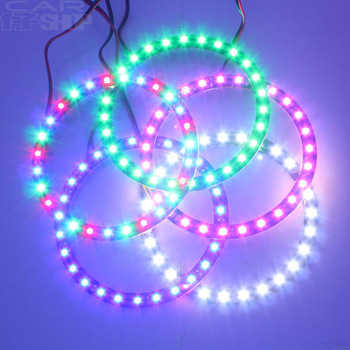 Car decoration lamp modified car lights angel eye devil circle angel eye lens angel eyes aperture lighting