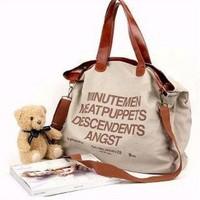 Hot sale women messenger bag and evening handbag Fashion beautiful Canvas handbags casual shoulder bags Free shipping