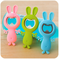 Hearts . qq series cartoon rabbit magic bottle opener candy color kai bottle opener