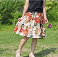Free shipping lady women's bust skirt bohemia summer short skirt women's beach skirt 4#