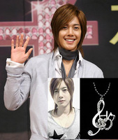 38 is handsome , note ss501 ss5 music necklace gx11