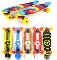 fashional maple skate board Full board double warped four skateboard assembled sand bag free shipping