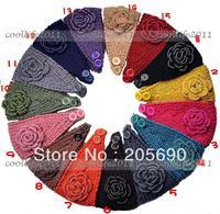 20pcs/LOT Fashion Women Lady Headband Hair band women Knit crochet Headwrap