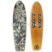 Maple fish plate board surface bananas four maple skateboard highway board fashional retro board long board