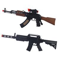 free shipping Luminous toy guns,  Electric toy gun sniper rifle toy gun infrared electric gun submachinegun model music gun