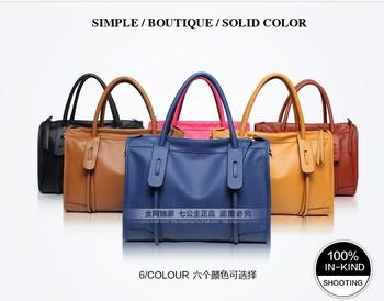 Fashion designer seven princesses Bags 2013 women's Pu handbag fashion Messenger Bags shoulder Woman bags. Free shipping