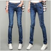 2013 spring autumn female skinny pants jeans slim pencil pants elastic denim trousers