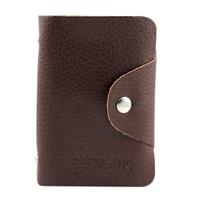 Genuine leather 20 card cowhide card bag