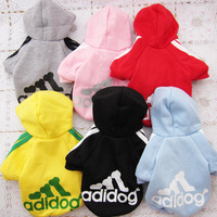 Free shipping 2013 New arrivals Cheap dog sports wear clothes the pet dog Sweater-6 colors