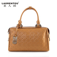 LAORENTOU women leather handbags new 2013 women's vintage handbag fashion genuine leather bags designer brand ladies totes